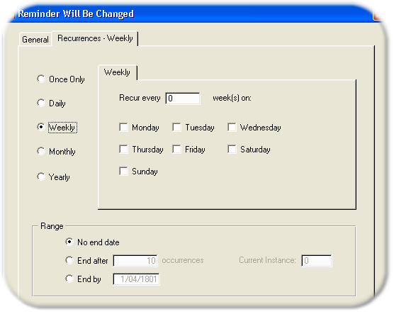 how to set daily reminder in outlook